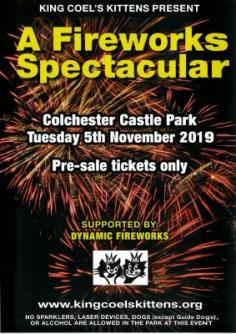 Colchester Fireworks Display