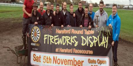Hereford Round Table Fireworks Display 2017